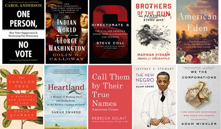 National Book Awards Longlist for Nonfiction