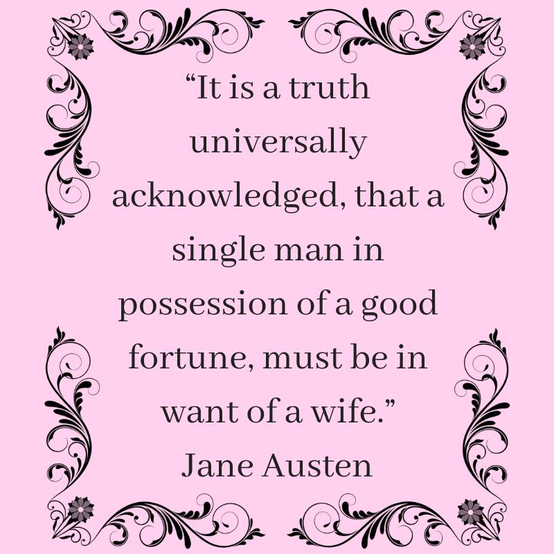 Jane Austen quotes; read yourself happy