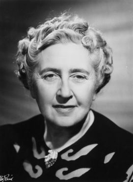 British writer of crime and detective fiction, Dame Agatha Christie (1891 - 1976). (Photo by Walter Bird/Getty Images)