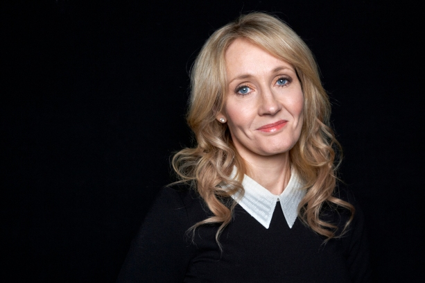 """FILE - In this Oct. 16, 2012, file photo """"Harry Potter"""" novels author J.K. Rowling poses for a photo at an appearance at The David H. Koch Theater in New York. Rowling is to receive the PEN/Allen Foundation Literary Service Award, PEN America told The Associated Press on Monday, Jan. 25, 2016. (Photo by Dan Hallman/Invision/AP, File)"""