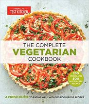The Complete Vegetarian Cookbook America's Test Kitchen