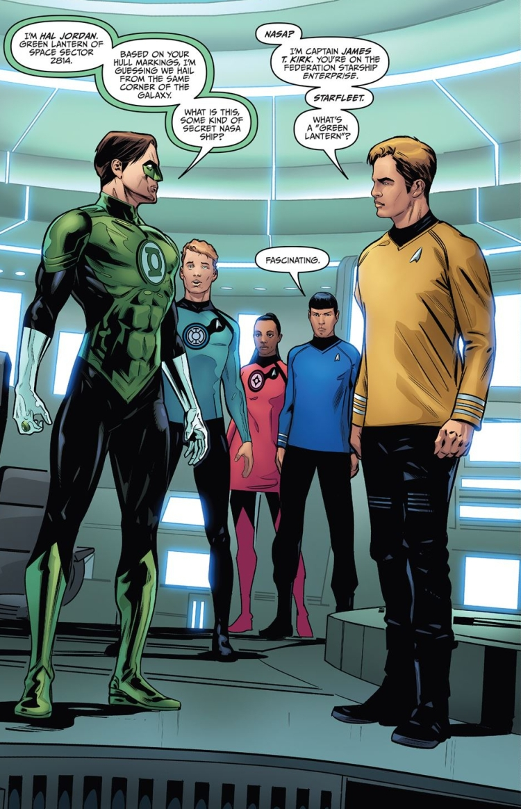 star trek green lantern art2
