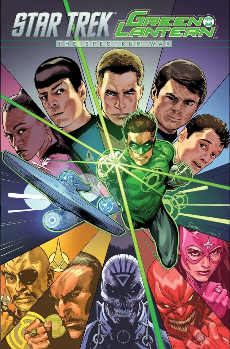 Star Trek Green Lantern the Spectrum War