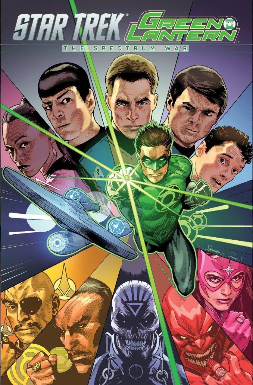 Star Trek Green Lantern the Spectrum War