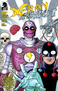 x-ray robot mike allred